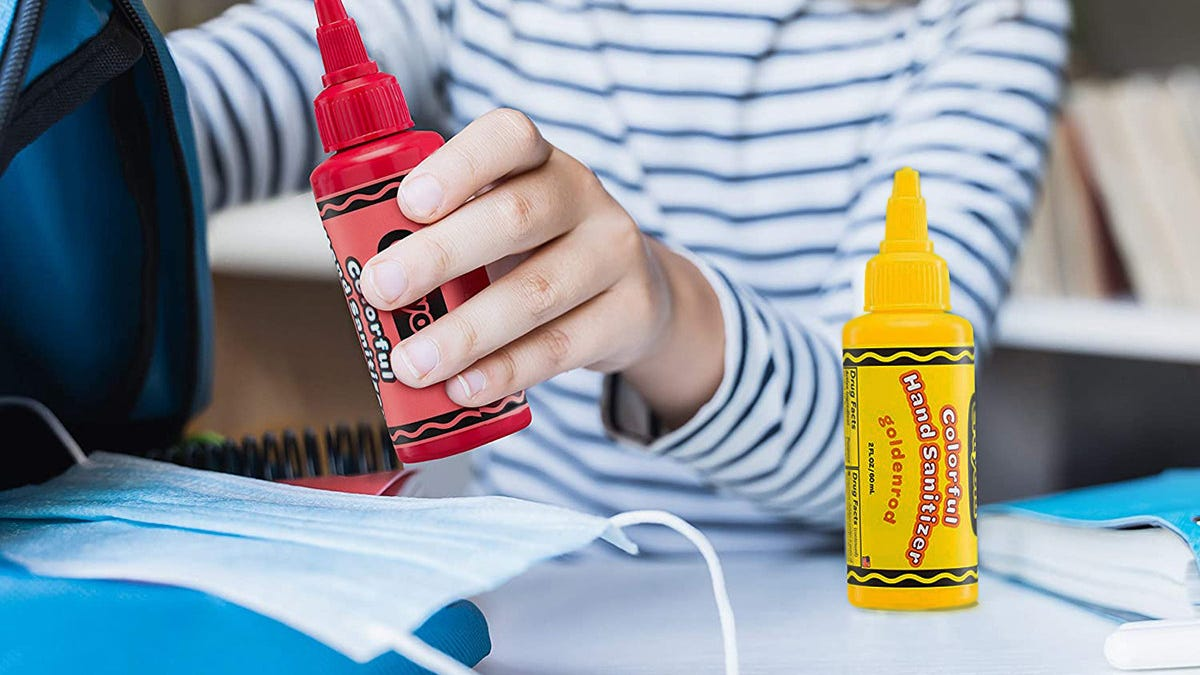 Crayola launches colorful hand sanitizers for kids amid COVID pandemic