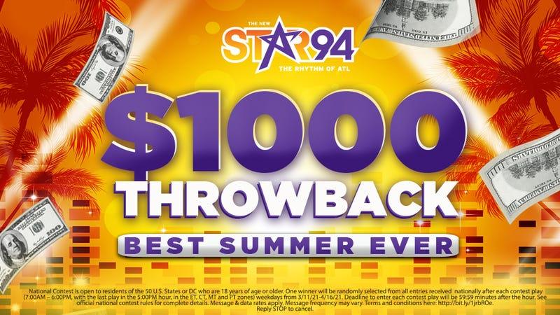 $1,000 Throwback
