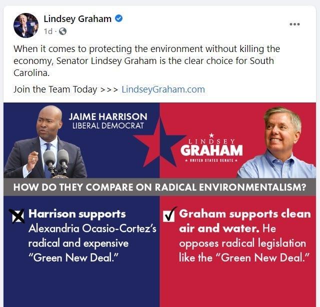 Lindsey Graham FB page
