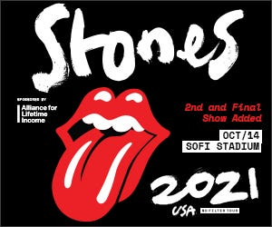 Listen to win tickets to see The Rolling Stones