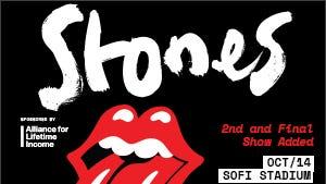 The Rolling Stones at SoFi Stadium on 10/14/21