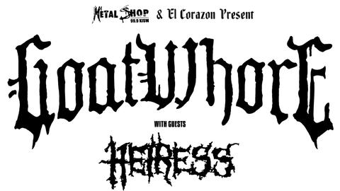 KISW Metal Shop Presents: Goatwhore