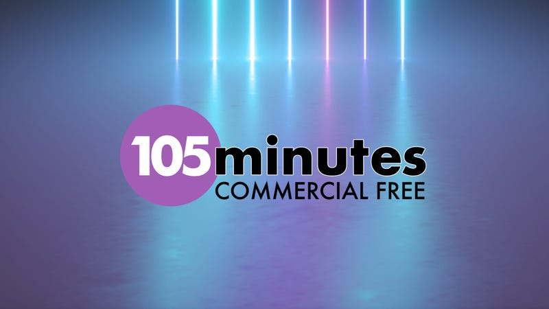 105 minute commercial free