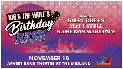 106.5 The Wolf's Birthday Bash