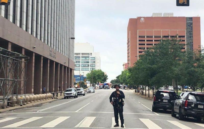 Downtown Dallas Shooting