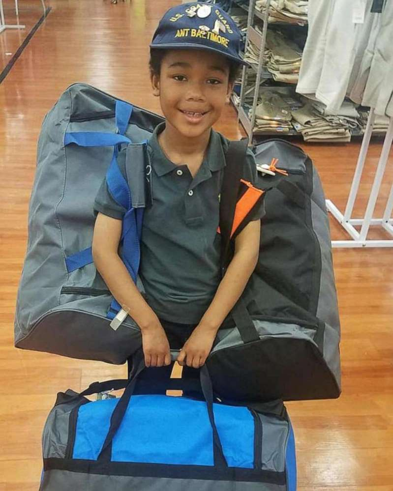 8-Year-Old Boy Helps Veterans Get Back on Their Feet