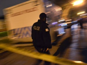 Police investigate a shooting about 2:30 a.m. Friday, October 5, 2018 in the 11700 block of South Throop Street in Chicago. | Justin Jackson/ Sun-Times
