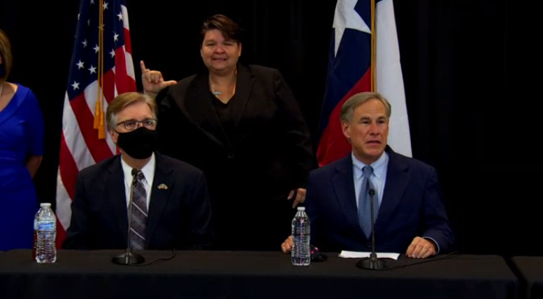 Governor Abbott Press Conference