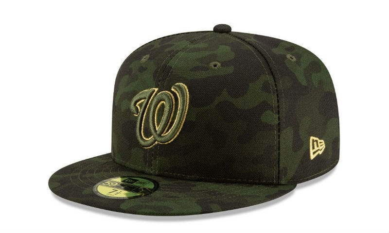 MLB to honor military members with Armed Forces Day hats.