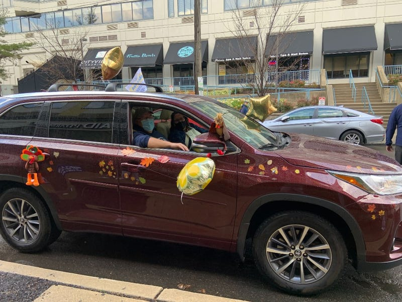People decorate their cars as they deliver meals to 1,000 MANNA clients