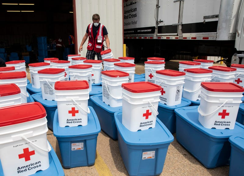 Red Cross workers from the Philadelphia area are in Baton Rouge, Louisiana to help with disaster relief.