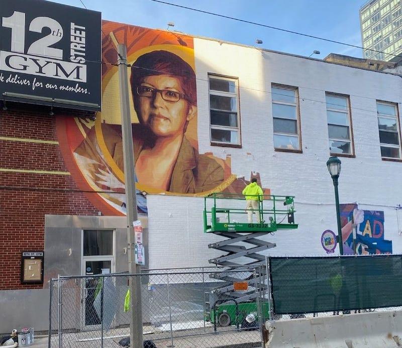 Gloria Casarez mural
