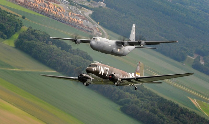 World War II planes will be flying over D.C. this Friday