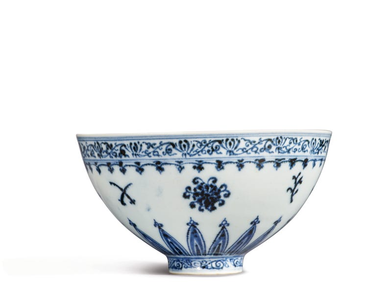 14th century Yongle bowl