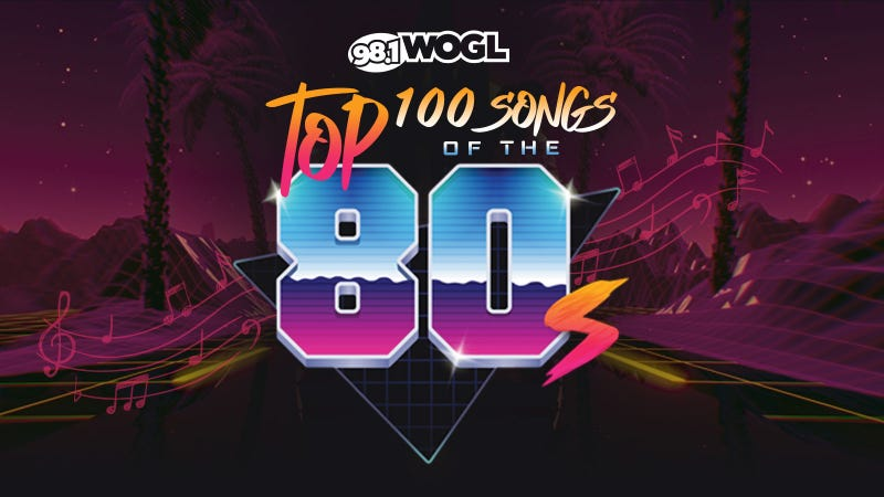 The Top 100 Songs of the '80s!