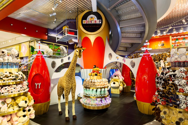 FAO Schwarz listed on Airbnb