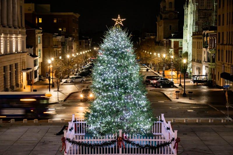 Pennsylvania's Capitol Christmas Tree