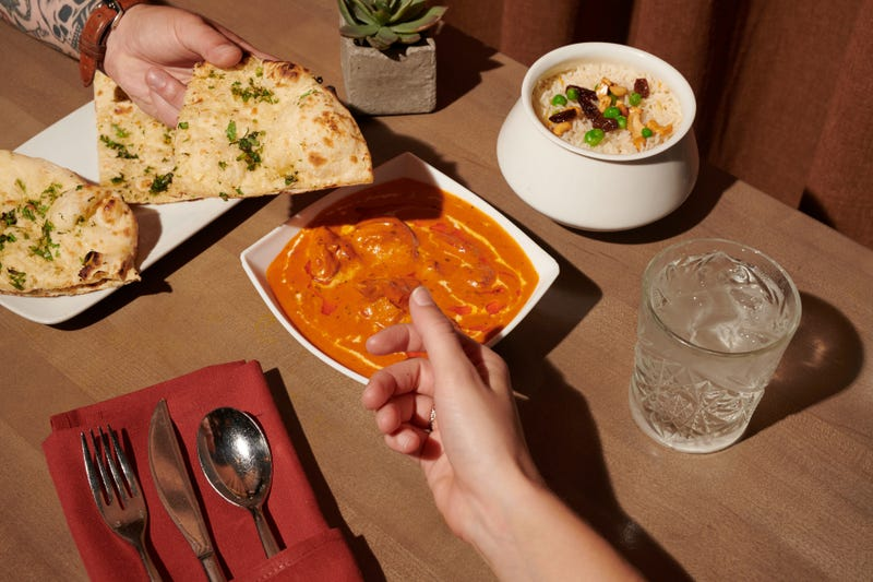 A meal at Veda in Center City