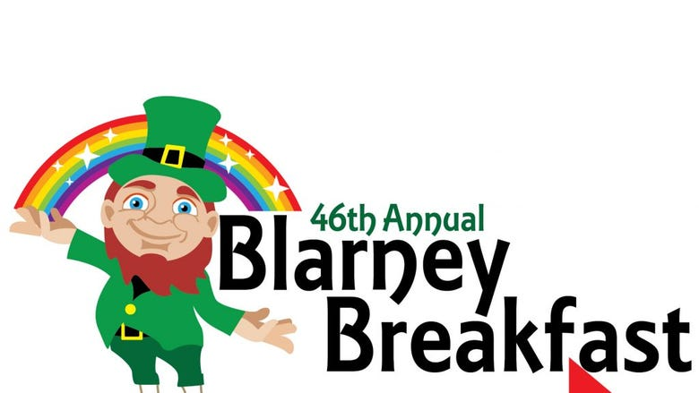46TH ANNUAL BLARNEY BREAKFAST TO GOWichita's Favorite St. Patrick's Day Tradition