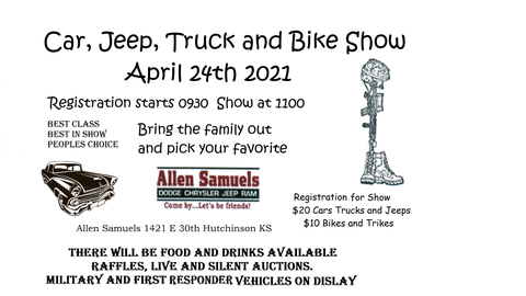 Car  Jeep  Truck–& Bike Show