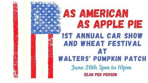 As American as Apple Pie Car Show