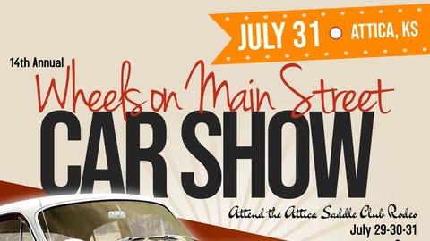 Wheels on Main Street Car Show