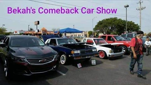 Bekah's Comeback Car Show