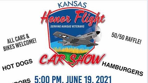 Kansas Honor Flight Car Show