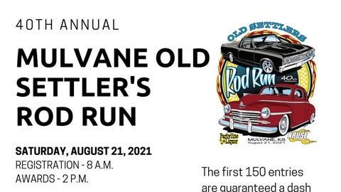 Mulvane Old Settler's Rod Run