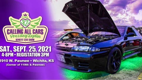 CALLING ALL CARS 5th Annual Pressley Zeplin Benefit Car Show