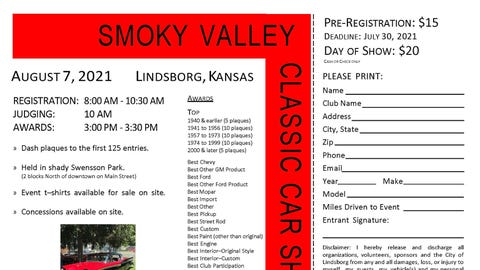 21st Annual Smoky Valley Classic Car Show