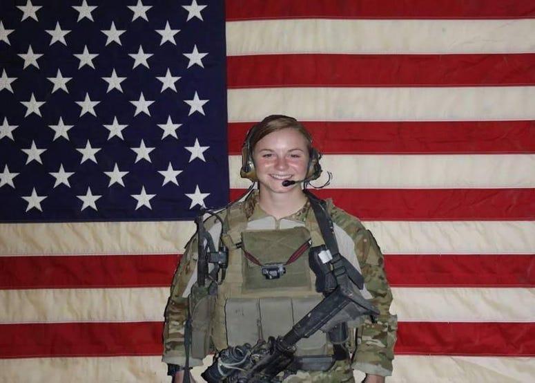First Lt. Ashley White