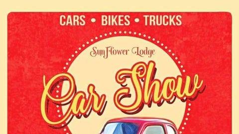 Sun Flower Lodge Car Show