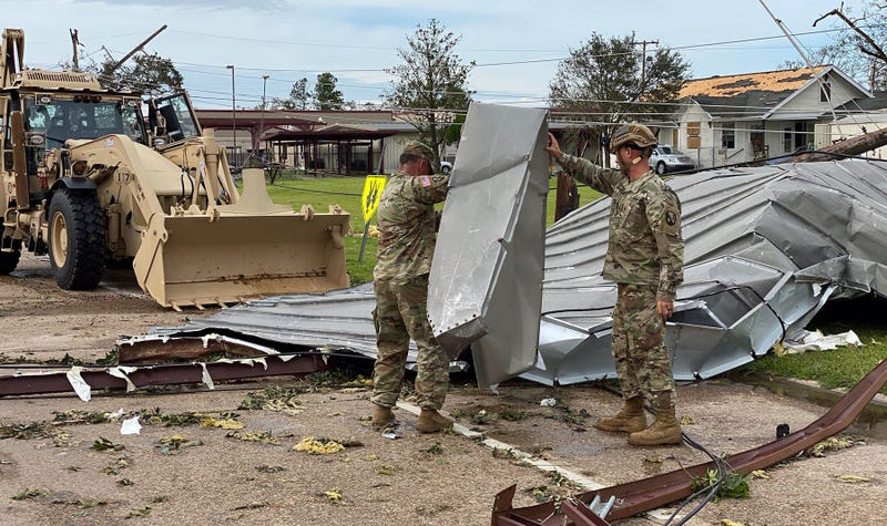 Hurricane Laura, US Army