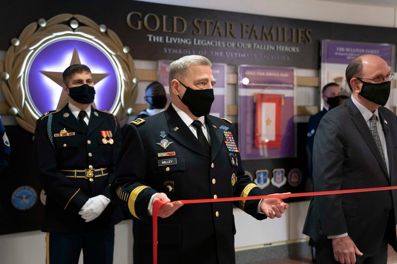 Milley, Gold Star Families Exhibit
