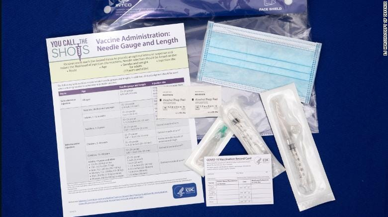 COVID-19 vaccine kit