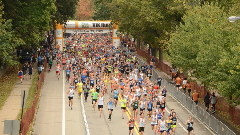 The 2021 Richard S. Caliguiri City of Pittsburgh Great Race