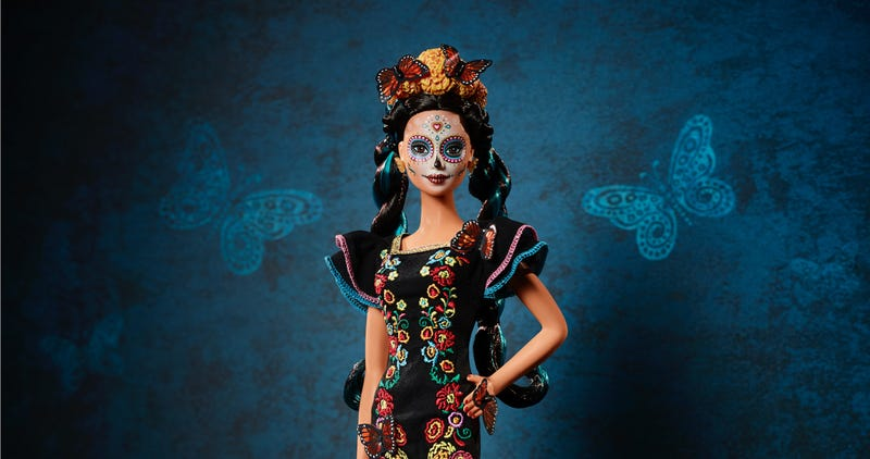 Mattel has announced they'll be releasing a Day of the Dead Barbie to celebrate the Mexican holiday Dia de los Muertos.