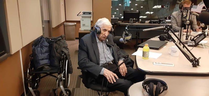 Sid on his 100th birthday