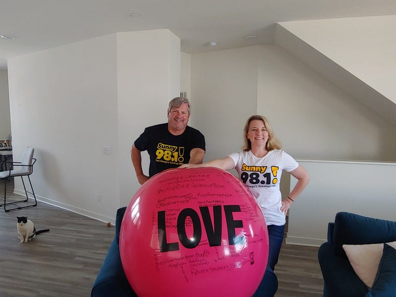 Rob and Joss Love Ball