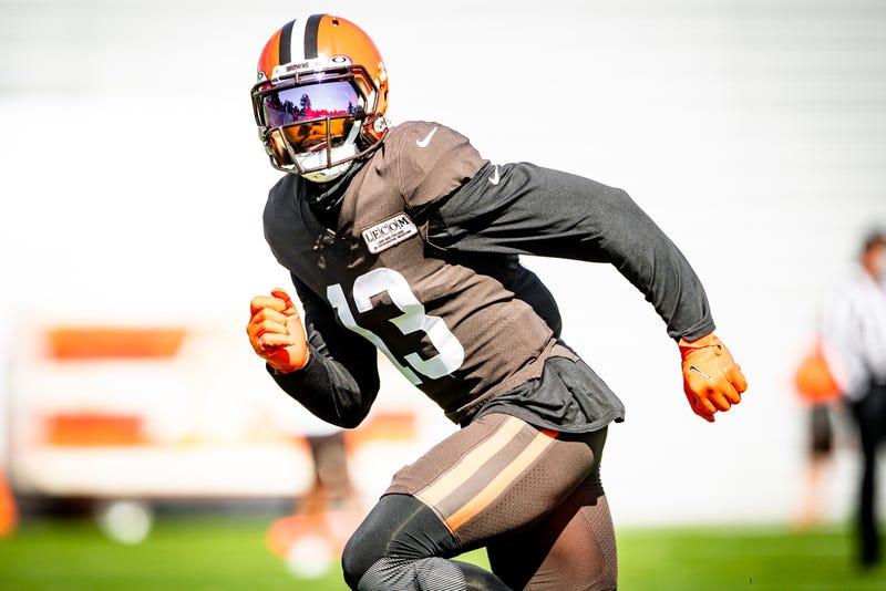 Cleveland Browns receiver Odell Beckham Jr.