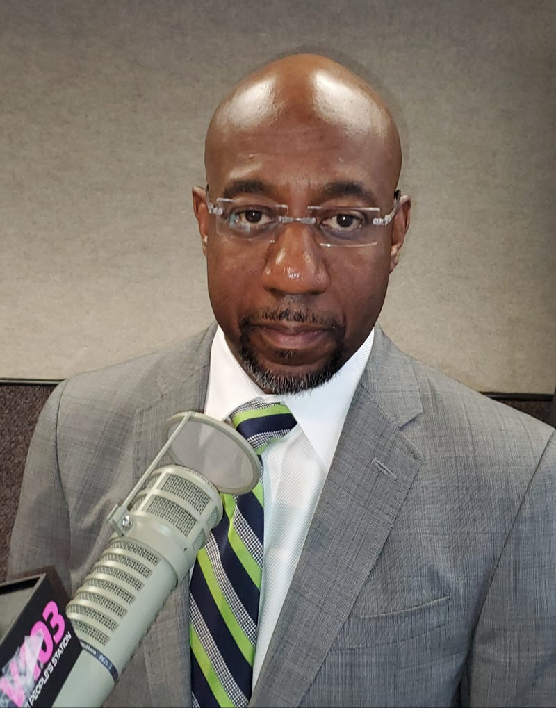Senator Raphael Warnock spoke to Maria Boynton on Thursday