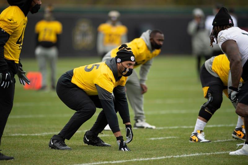 Steelers practice