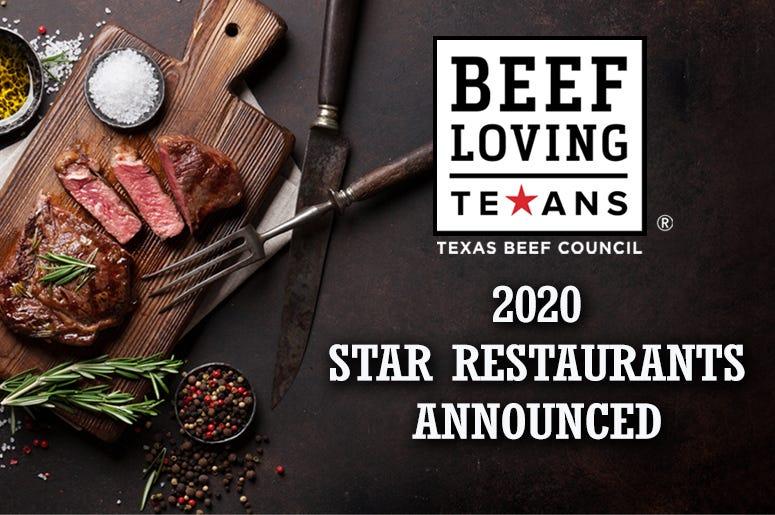 2020 Star Restaurants Announced