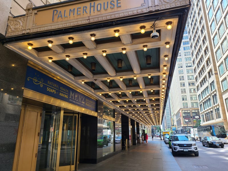 Chicago's iconic Palmer House Hotel