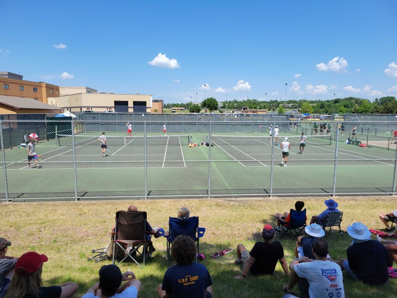 Heat is on at Boys State Tennis Tournament