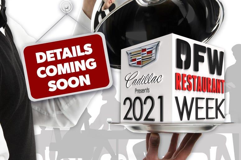 2021 DFW Restaurant Week