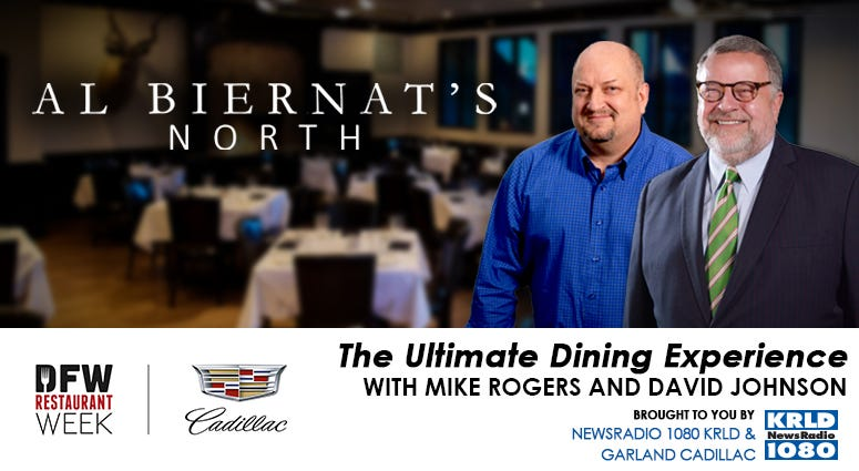 2021 DFW Restaurant Week Ultimate Dining Experience with Mike Rogers & David Johnson