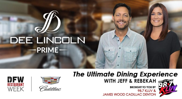 2021 DFW Restaurant Week Ultimate Dining Experience with Jeff and Rebekah at Dee Lincoln Prime