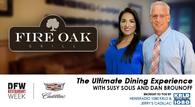 2021 DFW Restaurant Week Ultimate Dining Experience with Susy Solis and Dan Brounoff